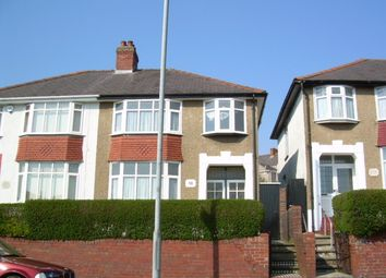 Thumbnail 3 bed semi-detached house to rent in Eaton Road, Brynhyfryd, Swansea.