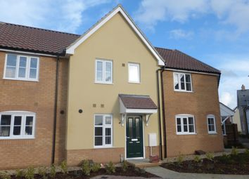 Thumbnail 2 bedroom terraced house to rent in Snowdrop Way, Red Lodge, Bury St. Edmunds