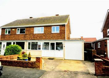 Thumbnail 3 bed semi-detached house for sale in Sycamore Road, Kimblesworth, Chester Le Street, County Durham