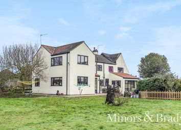 Thumbnail 5 bed cottage for sale in Staithe Road, Martham, Great Yarmouth