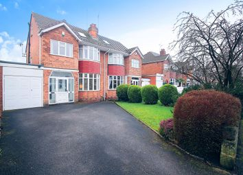 Thumbnail 4 bedroom semi-detached house for sale in Keswick Road, Solihull