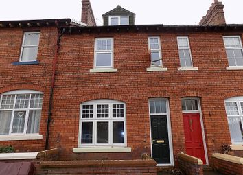 Thumbnail 4 bed terraced house to rent in South Western Terrace, Carlisle