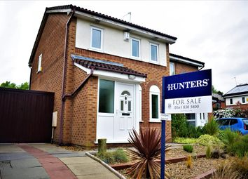 Thumbnail 3 bed semi-detached house for sale in Towcester Close, Manchester