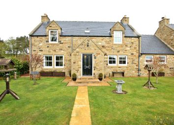 Thumbnail 3 bed detached house for sale in The Larkes, Elsdon, Newcastle Upon Tyne