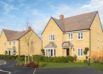 "Thumbnail 4 bed detached house for sale in ""Holden"" at Field Close, Longworth, Abingdon"
