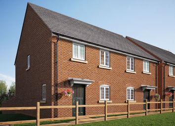 "Thumbnail 3 bed semi-detached house for sale in ""The Melford"" at Coventry Road, Cawston, Rugby"