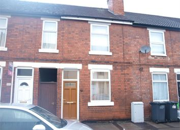 Thumbnail 2 bed terraced house for sale in Balfour Street, Burton-On-Trent, Staffordshire