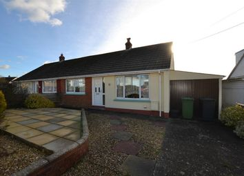 Thumbnail 2 bed semi-detached bungalow for sale in Chanters Hill, Barnstaple