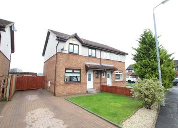 Thumbnail 3 bed semi-detached house for sale in Bridgend Crescent, Moodiesburn, Glasgow, North Lanarkshire