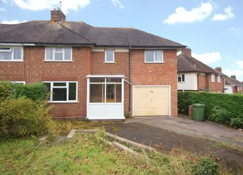 Thumbnail 4 bed semi-detached house for sale in Queensway, Holmer, Hereford