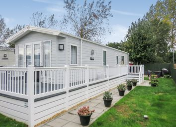 Thumbnail 2 bed mobile/park home for sale in Chapel Road, Bucklesham, Ipswich