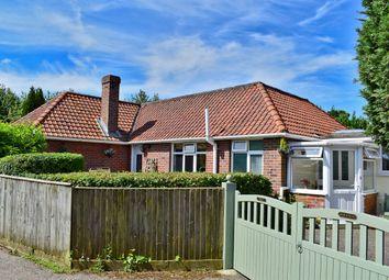 Thumbnail 4 bed detached bungalow for sale in Sway Road, Pennington, Lymington