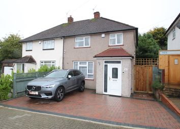 Thumbnail 2 bed semi-detached house for sale in Rushet Road, Orpington
