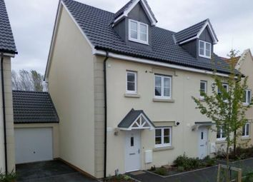 Thumbnail 4 bed semi-detached house to rent in Moor Gate, Portishead, Bristol