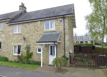 Thumbnail 2 bed semi-detached house to rent in Richmond Garth, Kirkby Malzeard, Ripon
