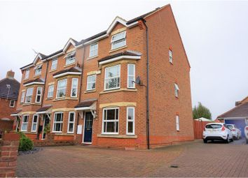 Thumbnail 3 bed town house for sale in Hartland Avenue, Tattenhoe