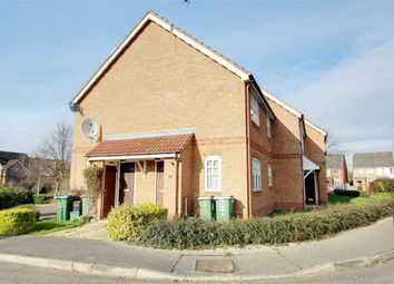 Thumbnail 1 bed end terrace house to rent in Holly Drive, Aylesbury