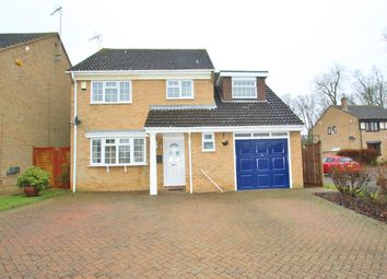 Thumbnail 4 bed detached house for sale in Edmonds Close, Buckingham