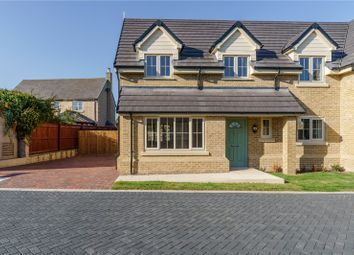 Thumbnail 4 bed semi-detached house for sale in Hardwick Court, Holme, Peterborough, Cambridgeshire