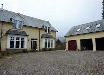 Thumbnail 5 bed detached house for sale in Dundurn Walk, St Fillans, Crieff