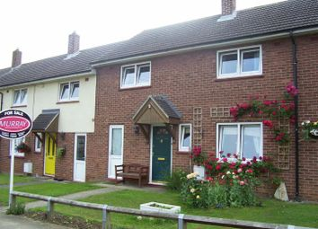 Thumbnail 3 bed terraced house for sale in Crummock Avenue, Edith Weston, Oakham
