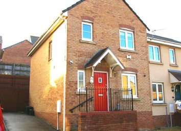 Thumbnail 3 bed end terrace house for sale in Kingfisher Road, North Cornelly, Bridgend