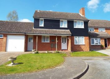 Thumbnail 3 bed link-detached house for sale in Glemsford, Sudbury, Suffolk