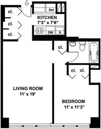 Thumbnail 1 bed property for sale in 301 East 45th Street, New York, New York State, United States Of America