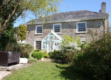 Thumbnail 4 bed farmhouse for sale in Court Road, Newton Ferrers, South Devon