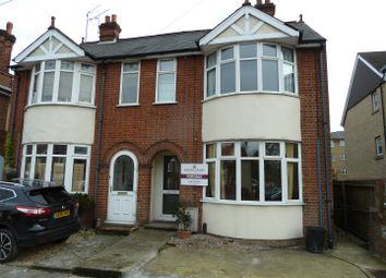 Thumbnail 3 bed semi-detached house for sale in Valley Road, Ipswich