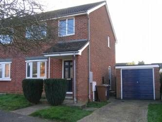 Thumbnail 3 bedroom terraced house to rent in Scarlin Road, Bury St Edmunds, Suffolk