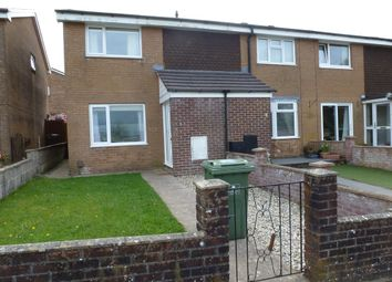 Thumbnail 3 bed end terrace house to rent in Nash Close, Plympton, Plymouth