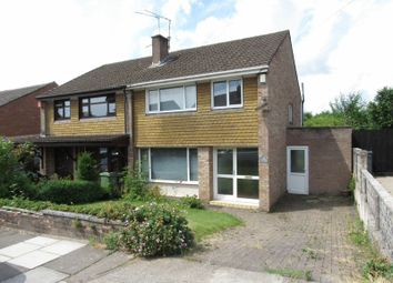 Thumbnail 3 bedroom semi-detached house for sale in Mansell Avenue, Michaelston-Super-Ely, Cardiff