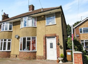 Thumbnail 3 bed semi-detached house for sale in Rushmere Road, Rushmere St. Andrew, Ipswich