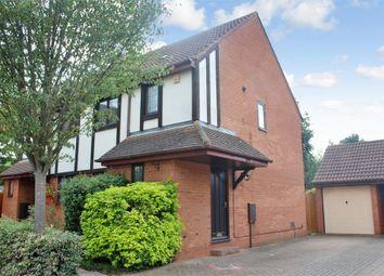 Thumbnail 3 bedroom semi-detached house to rent in Longhedge, Caldecotte, Milton Keynes