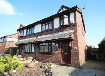 Thumbnail 3 bed semi-detached house for sale in Norden Road, Bamford, Rochdale