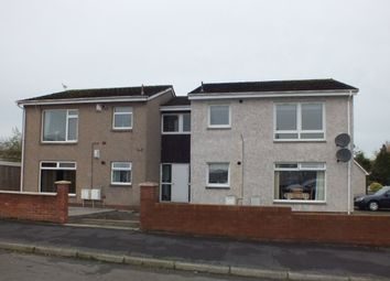 Thumbnail 1 bed flat to rent in Merlin Avenue, Bellshill