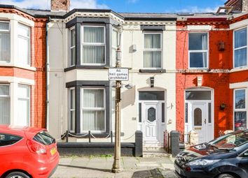 Thumbnail 3 bed terraced house for sale in Portman Road, Wavertree, Liverpool, Merseyside