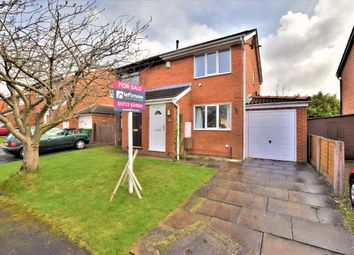 Thumbnail 2 bed semi-detached house for sale in Longley Close, Fulwood, Preston