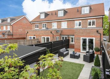 Thumbnail 4 bedroom end terrace house for sale in Trenchard Close, Hersham, Walton-On-Thames