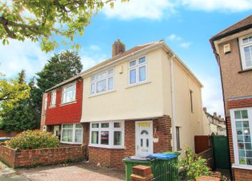 Thumbnail 3 bed semi-detached house for sale in Woodhurst Road, Abbey Wood