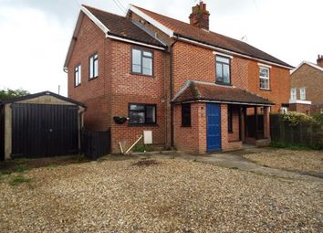 Thumbnail 4 bed semi-detached house for sale in Watton, Thetford, Norfolk