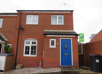 Thumbnail 3 bedroom semi-detached house for sale in Disraeli Crescent, Ilkeston