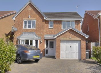 Thumbnail 4 bed detached house to rent in Chatsworth Drive, Bedlington