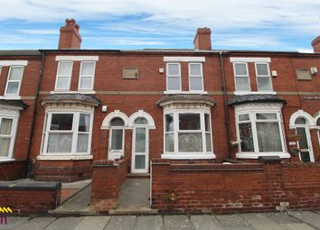 Thumbnail 2 bed terraced house to rent in Strafford Road, Doncaster