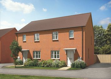 Thumbnail 3 bed semi-detached house for sale in Brockhall Road, Flore, Northampton