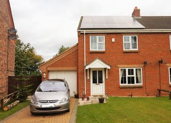 Thumbnail 3 bed semi-detached house for sale in Strawberry Fields Drive, Spalding