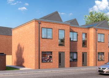 Thumbnail 2 bedroom town house for sale in Wheatsheaf Way, Leicester