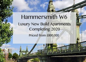 Thumbnail 1 bed flat for sale in Chancellors Street, London