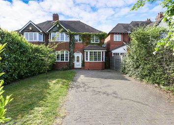 Thumbnail 4 bed semi-detached house for sale in Station Road, Dorridge, Solihull